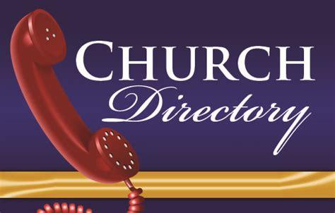 church directories online
