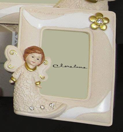 cornici claraluna portafoto verticale con angioletto colorato claraluna