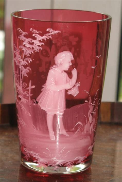 Cranberry Gregory Glass Bidadari 16274 454 best images about gregory style glass on cobalt blue glass vase and glasses