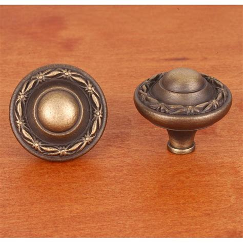Large Cabinet Knobs by Rk International Ck 760 Ae Solid Brass Cabinet Knob