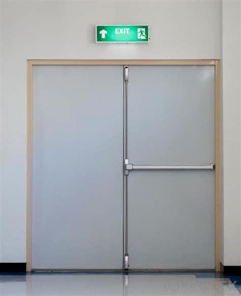 Kunci Pintu Emergency Exit Pintu Darurat Kebakaran Gedung Exit Door Warna Pintu Darurat Kebakaran Gedung Ketebalan Pintu