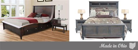 Bedroom Furniture Youngstown Ohio Custom Solid Wood And Amish Furniture Ohio Made