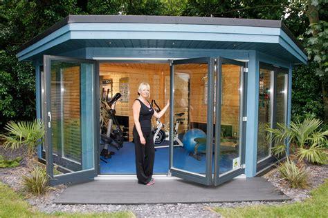 garden gyms home gym buildings norwegian log