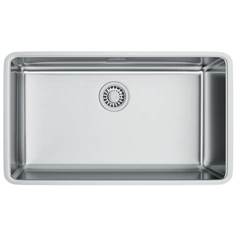 franke stainless steel sinks undermount franke kubus kbx 110 70 stainless steel undermount kitchen