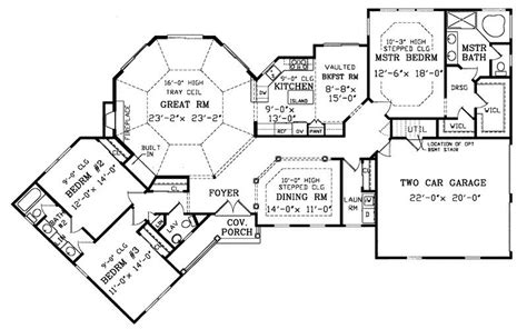 Birney Ranch Home Plan 016d 0002 House Plans And More | ranch house plans with pictures awesome birney ranch home