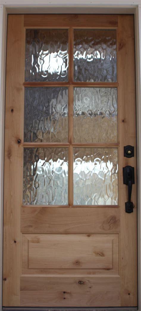knotty alder  rain water glass great  pantry