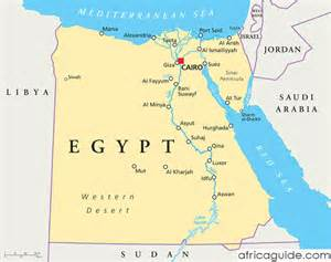 where is cairo on the map cairo map africa
