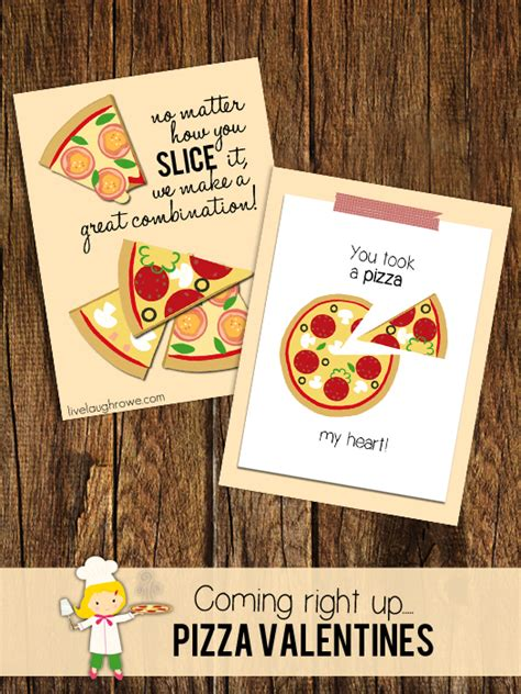 Pizza Valentines Card Template by A Pizza Or Two Live Laugh Rowe