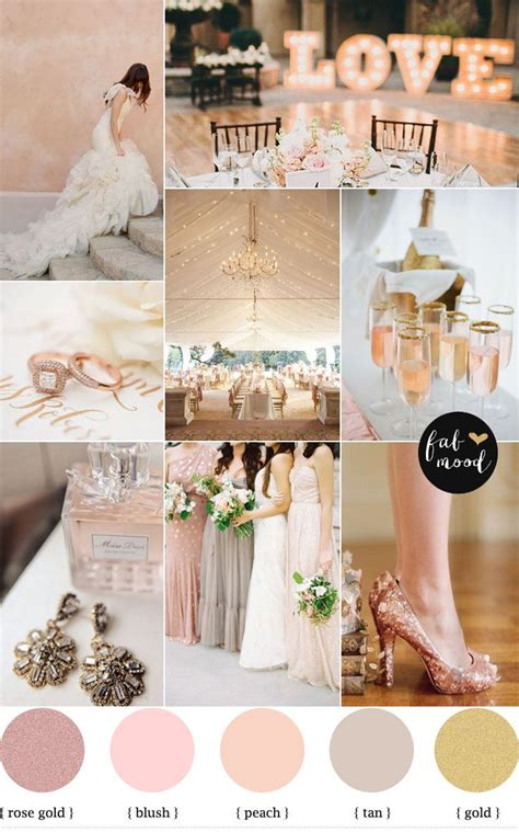 wedding colour themes uk 17 best ideas about rose gold weddings on pinterest