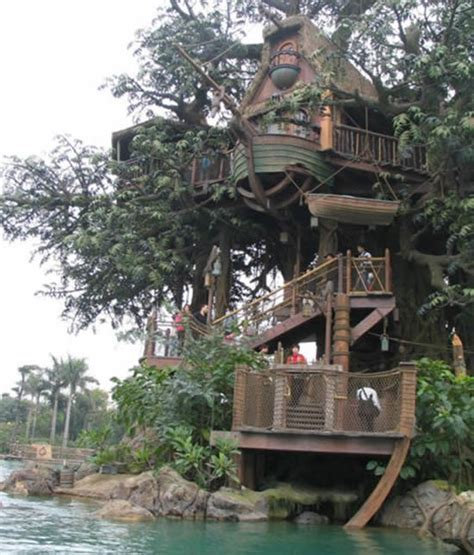 Coolest Tree Houses | cool treehouses from around the world cool things