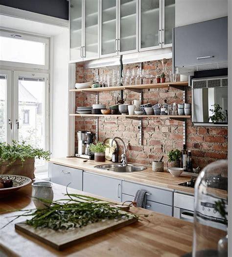 modern eclectic kitchen best 25 kitchen brick ideas on exposed brick