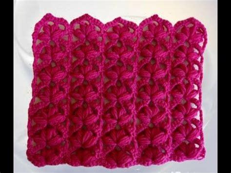 punto estrella crochet punto a crochet para prendas de invierno aplicando el