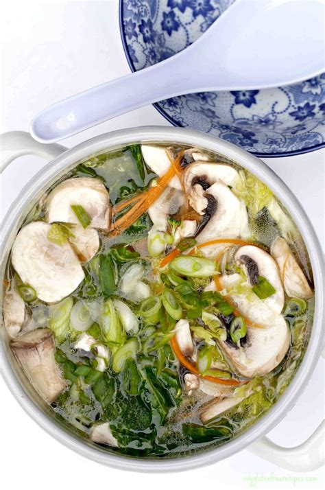 White Rice And Vegetable Detox by Vegetables And Clear Broth Pot Recipe