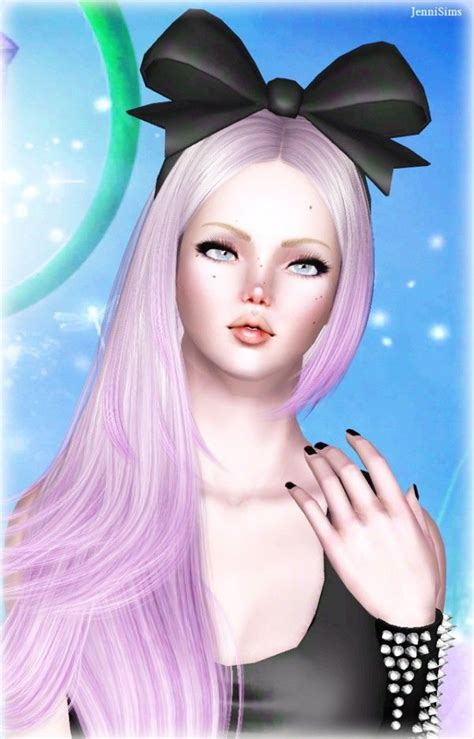 jenni sims accessory bow headband sims 4 downloads 162 best images about sims 3 cc accessories on pinterest