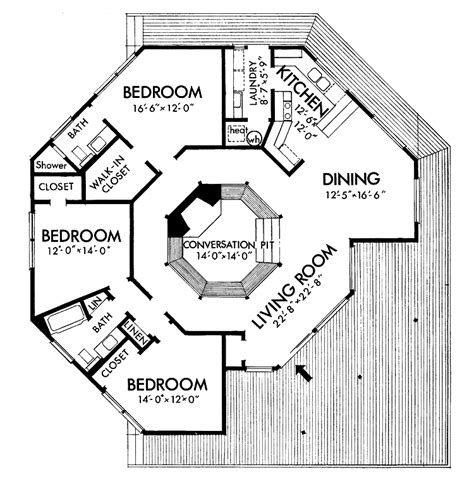 Octagon Home Plans | tiny octagon house plan joy studio design gallery best