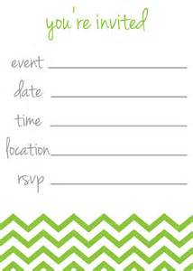 items similar to chevron stripe quot you re invited quot invitations on etsy
