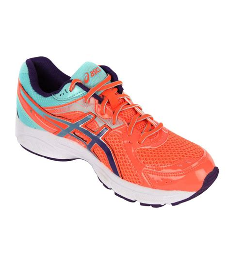 active sport shoes asics fiery coral active sport shoes gel contend 2