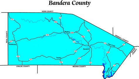 where is bandera texas on map bandera county tax assessor