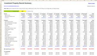 View full size image of free rental property management spreadsheet