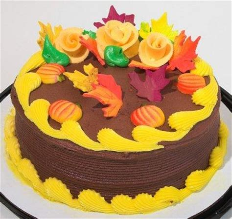 fall cake decorating ideas fall cake designs lovetoknow