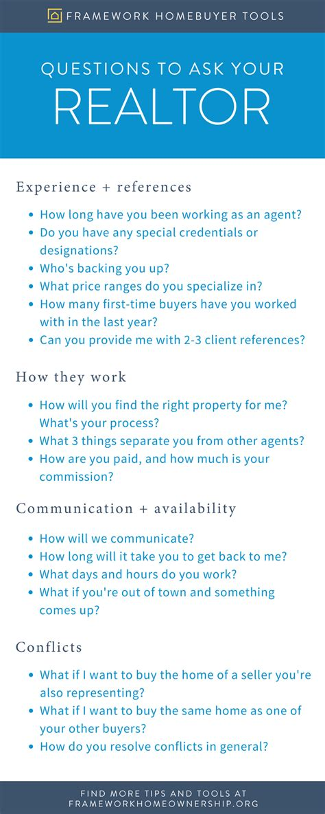 what questions to ask when buying a house what to ask a realtor when buying a house 28 images 12