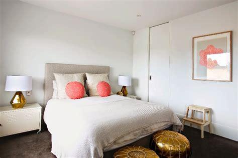 white bedroom design  peach  gold accents  girls kidsomania