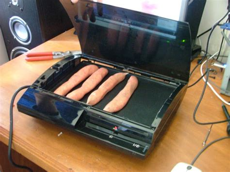 modded ps3 console ps3で焼き肉 gigazine