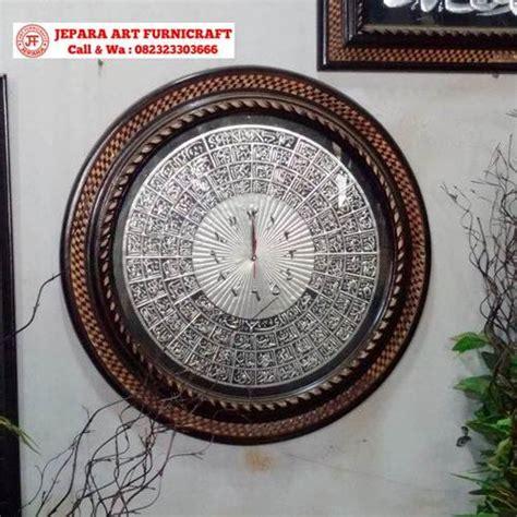 Dvr520 Jam Meja Silver Produk Termurah terbaru jual jam kaligrafi asmaul husna silver termurah