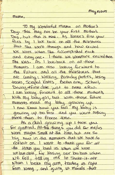 Letter For S Day Pg 1 Mothers Day Letter 2015 Edited 1