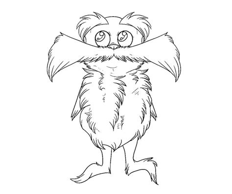 The Lorax Bears Coloring Pages by Free Coloring Pages Of Lorax