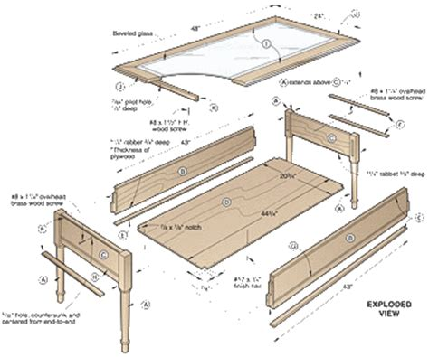 Build Your Own Coffee Table Plans Diy Wooden Table Plans