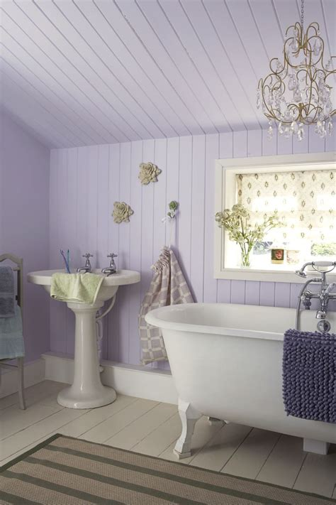 lilac and grey bathroom 30 adorable shabby chic bathroom ideas country style