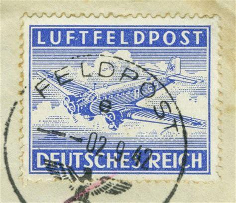 Luftpost Aufkleber Drucken by Flugpost