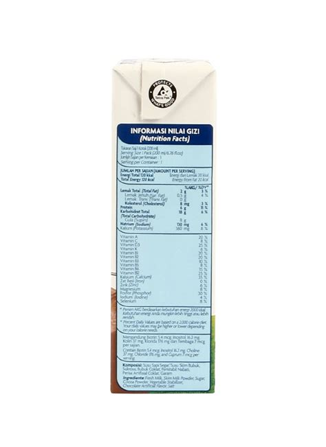 Ultra Milk Low Plain 200ml ultra cair low hi calcium coklat tpk 200ml