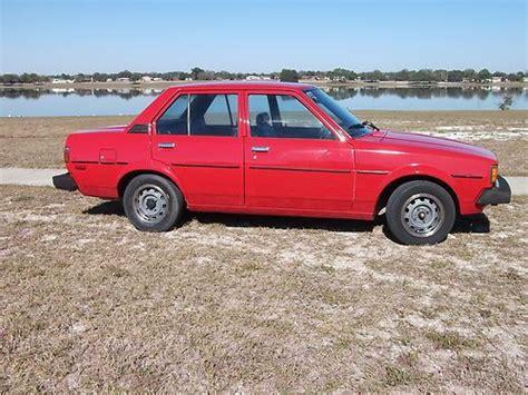 1980 Toyota Corolla Sale Buy Used 1980 Toyota Corolla Base Sedan 4 Door 1 8l In