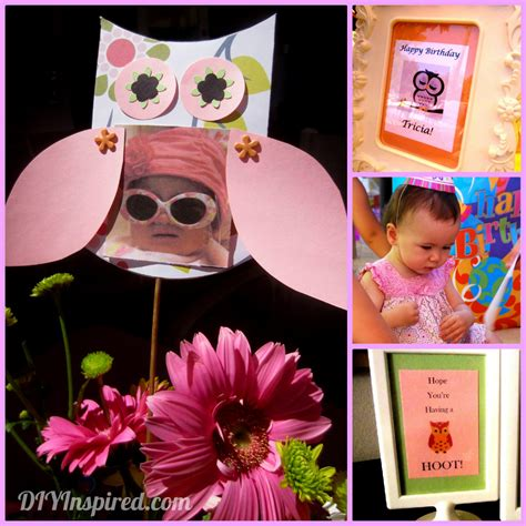 owl themed birthday diy inspired