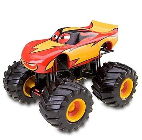 disney monster truck videos disney cars toon frightening mcmean monster truck import