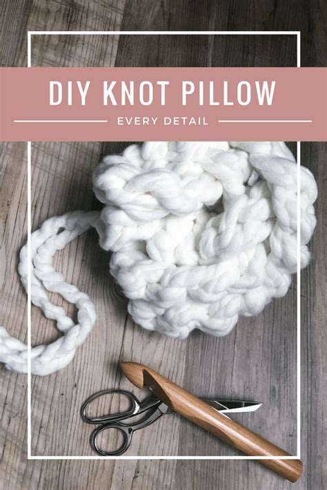 extraordinary diy knot pillows to give new appearance to knot pillow tutorial every little detail you need to know