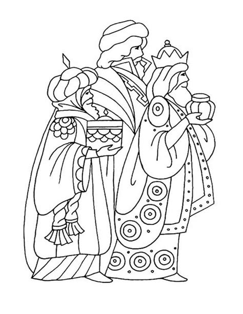 bible story three kings coloring pages batch coloring