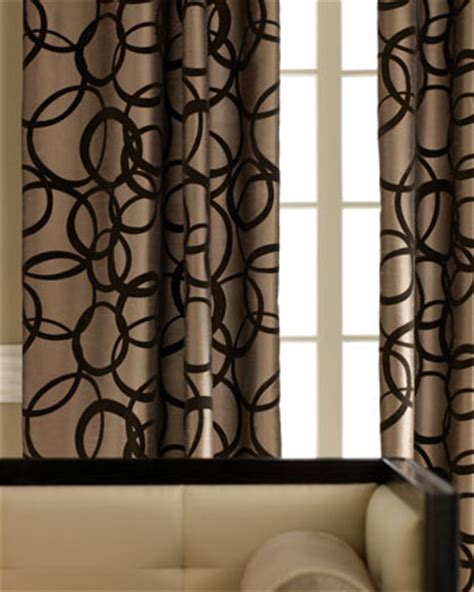 tan and black curtains metropolitan curtain traditional curtains by horchow