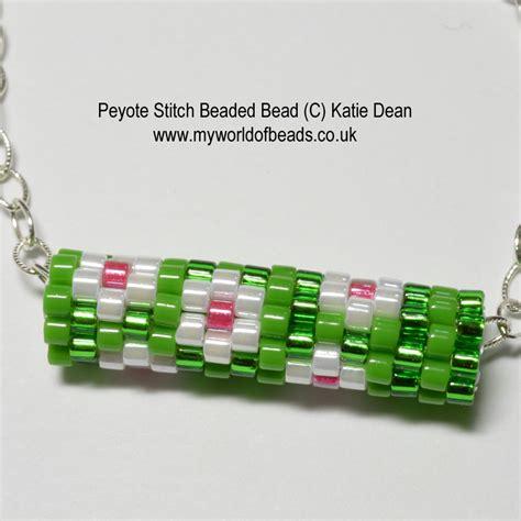 how to do peyote stitch beading peyote stitch my world of by dean