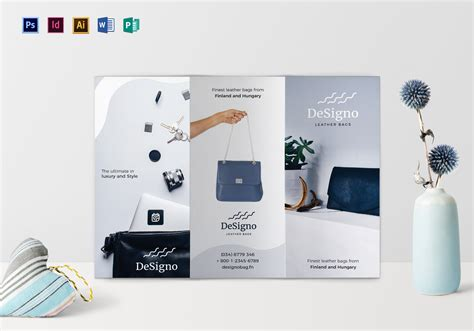 product brochure template word minimal product brochure design template in psd