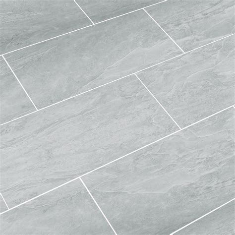 "SnapStone Luxury ThinLine 12"" x 24"" Porcelain Field Tile"