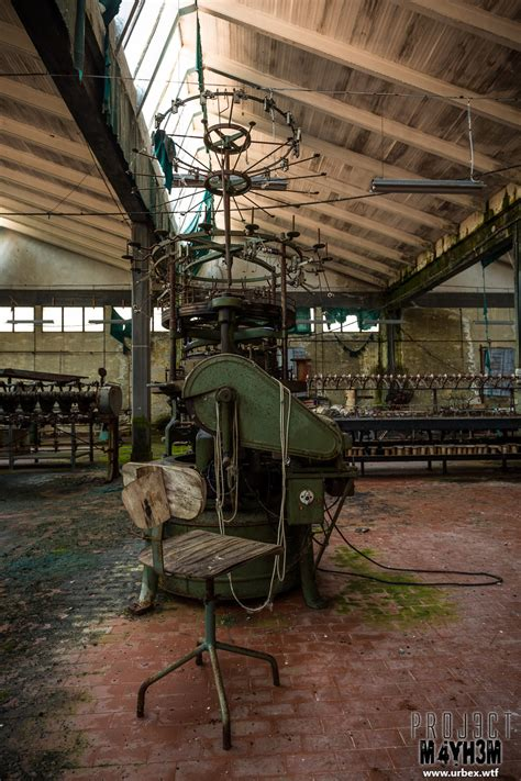 knitting factory proj3ctm4yh3m exploration urbex the knitting