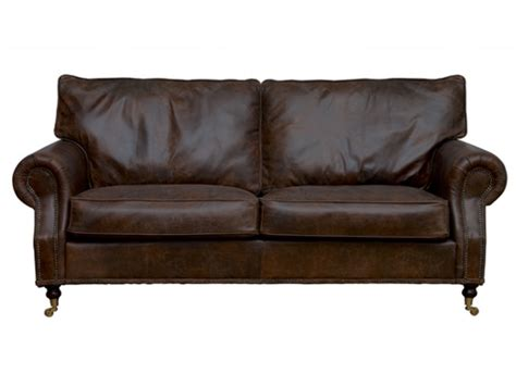 the leather sofa co the arlington vintage leather sofa