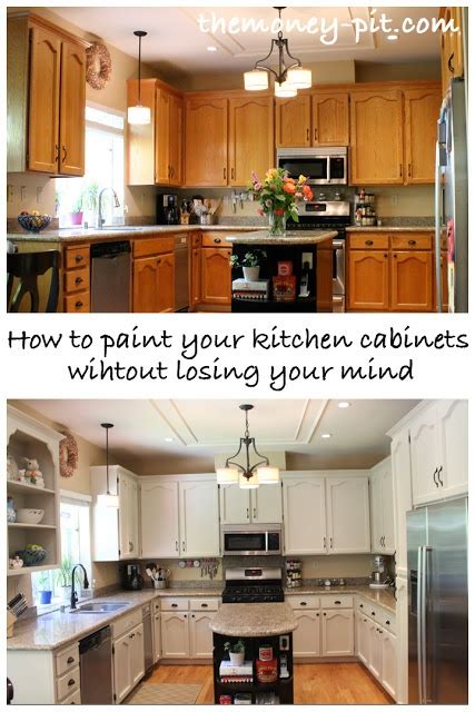 how to paint your cabinets how to paint your kitchen cabinets without losing your