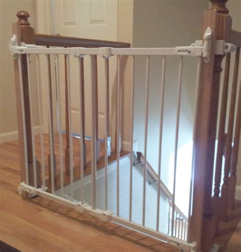 banister kit for baby gate custom baby gate wall and banister no holes installation