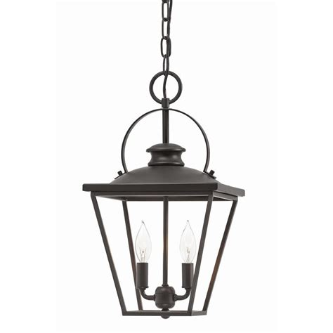 Cottage Pendant Lighting Shop Kichler Arena Cove 10 In Olde Bronze Country Cottage Single Cage Pendant At Lowes