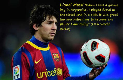 short biography of lionel messi in english could futsal help produce an english lionel messi jose