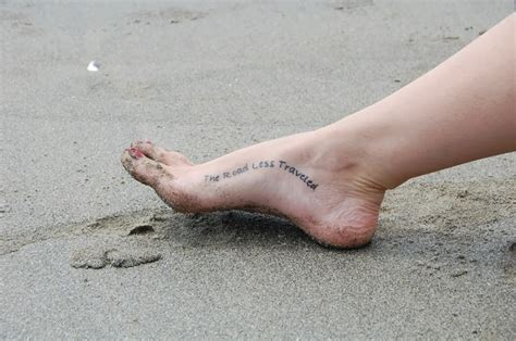 tattoo quotes for your feet ankle quotes quotesgram